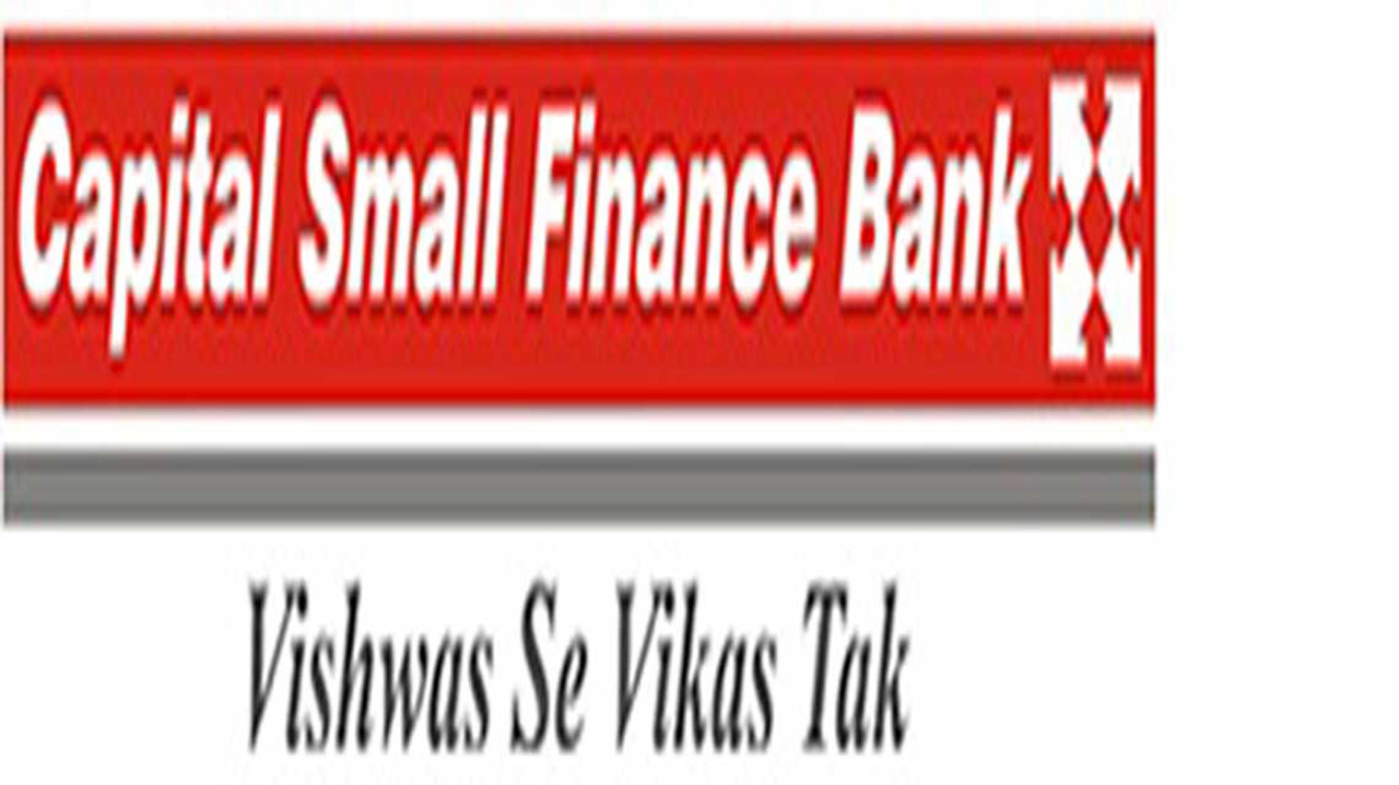 IFSC Codes of Capital Small Finance Bank Limited