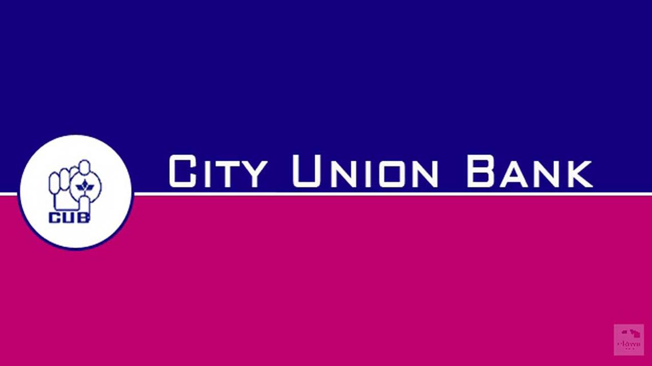 IFSC Codes of City Union Bank Ltd.